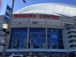 Rogers centre home of Blue Jays