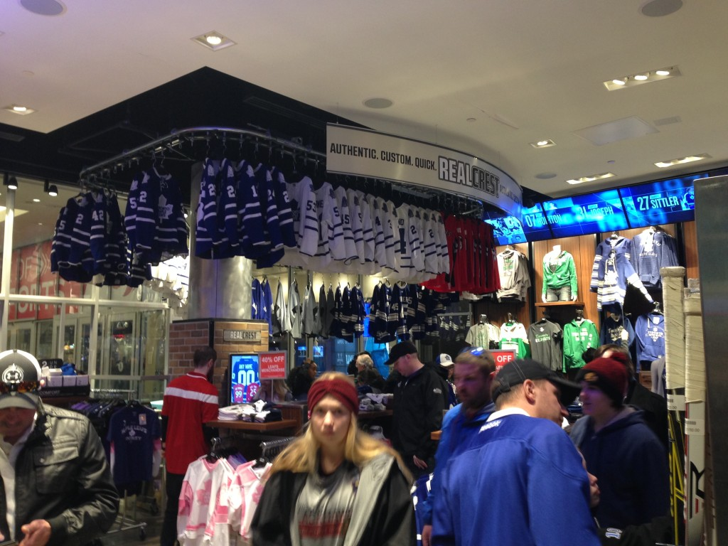 fanshop Toronto Maple Leafs