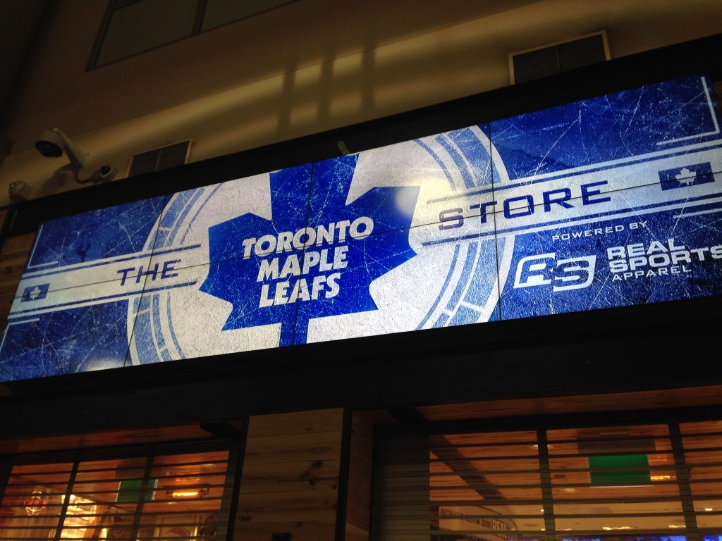 The Toronto Maple Leafs store