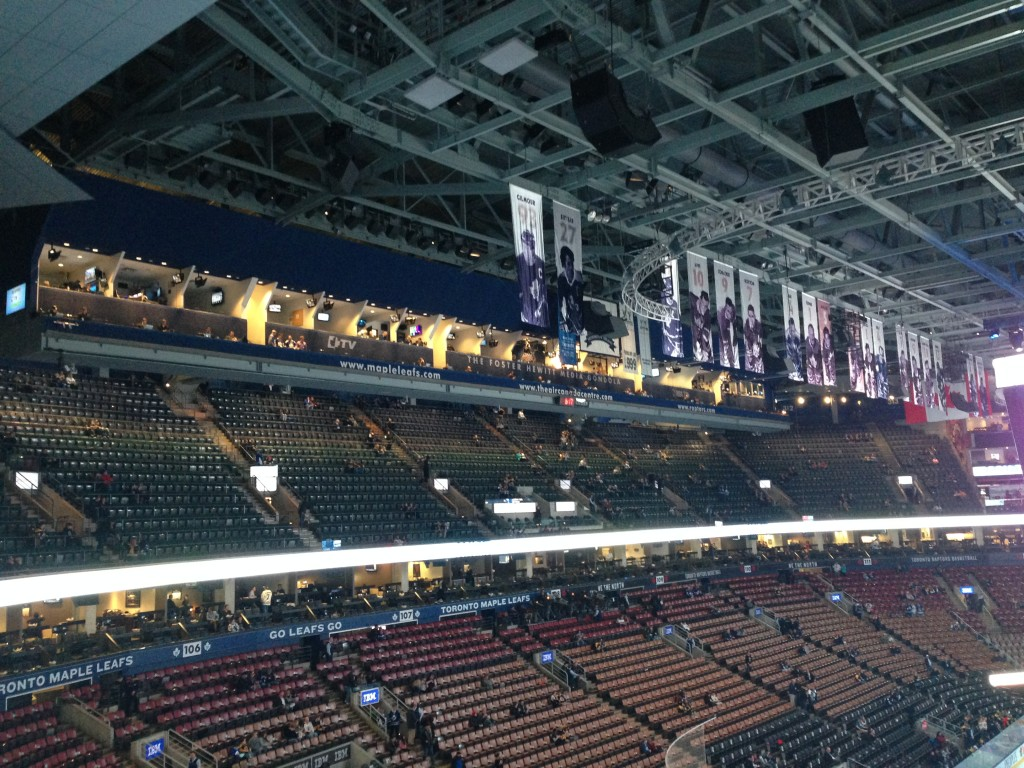 inside Air canada center