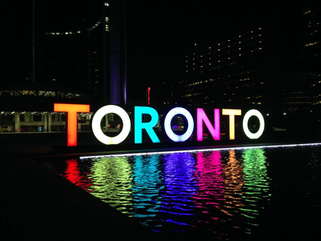 toronto sign city hall