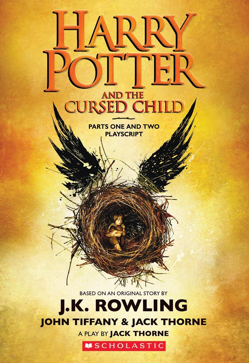 Harry Potter and cursed child by J.K. Rowling